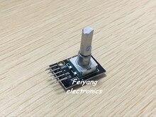 20 шт./лот Dropshipping KY-040 Вращающаяся Ручка-Энкодер Модуль Кирпич Датчик Развития для arduino