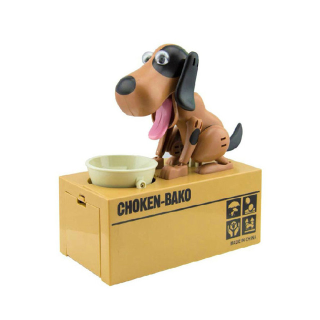 Hot selling Robotic Dog Money Box Money Bank Automatic Stole Coin Piggy Bank Money Saving Box Moneybox Gifts kid Doggy Coin Bank