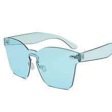 Lady's Cheap Crystal Sunglasses Pink Blue Brown Red