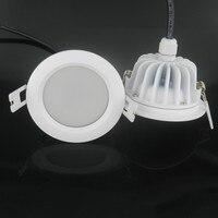 4 חדר אמבטיה עמיד למים IP65 LED Downlight AC220V Driverfree יח'\חבילה ללא נהג ניתן לעמעום LED תקרת מנורת אור נקודת משלוח חינם