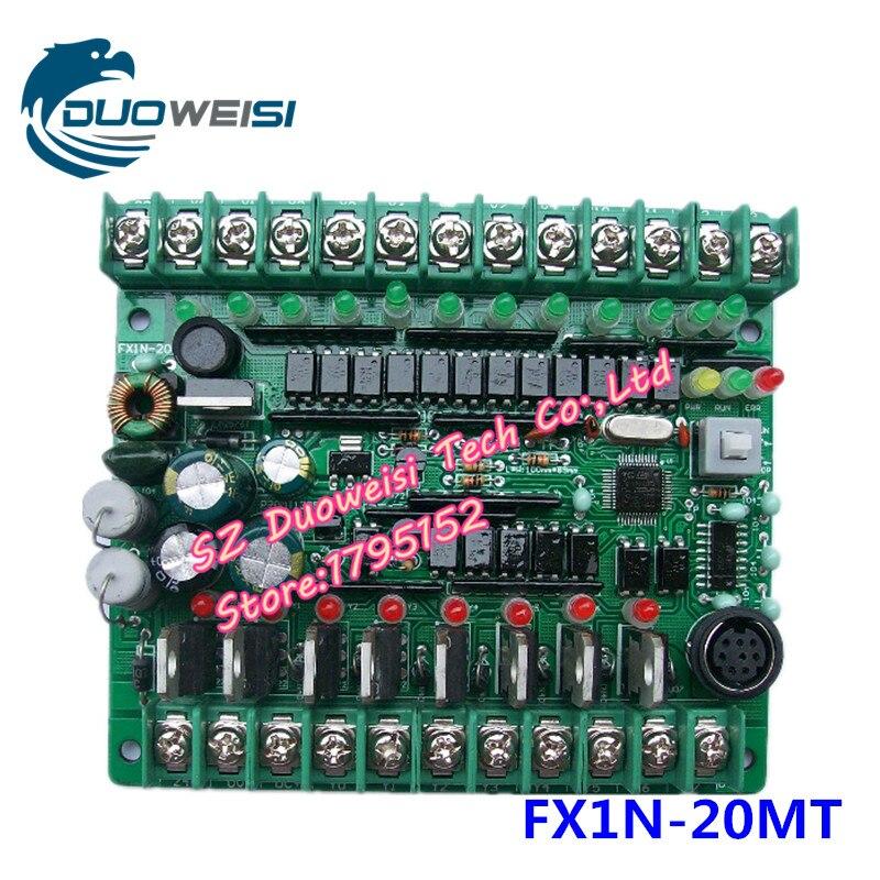 все цены на PLC IPC board microcontroller control board PLC solenoid contactor drive FX1N-20MT FX1N 20MT онлайн