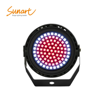 Free shipping 91*0.2W LED wash strobe stage effect light for DJ disco party dmx remote control RGBW flashing lighting
