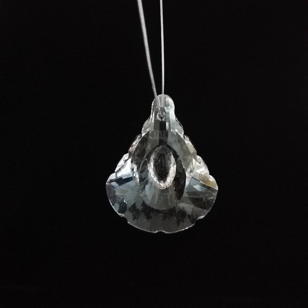 Crystal Chandelier Pendants Parts: Hot 50mm 100pcs Crystal Chandelier Parts Crystal Pendants