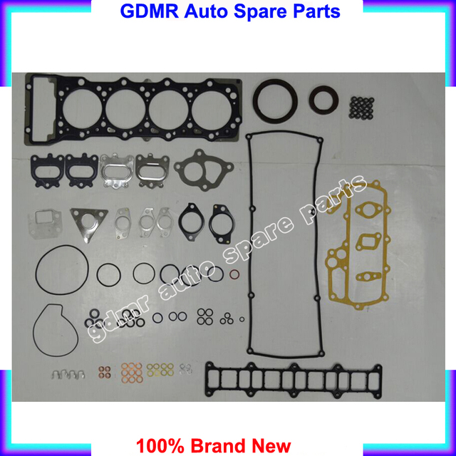 US $120 68 |Engine overhaul kit 4M41 4M41T gasket set rebuilding kits  ME993862 for Mitsubishi pajero Canter 3 2TDI-in Engine Rebuilding Kits from