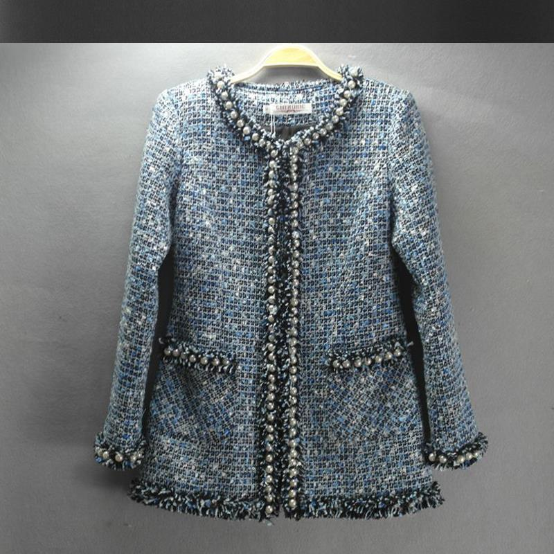 Popular Tweed Coat Womens-Buy Cheap Tweed Coat Womens lots from ...