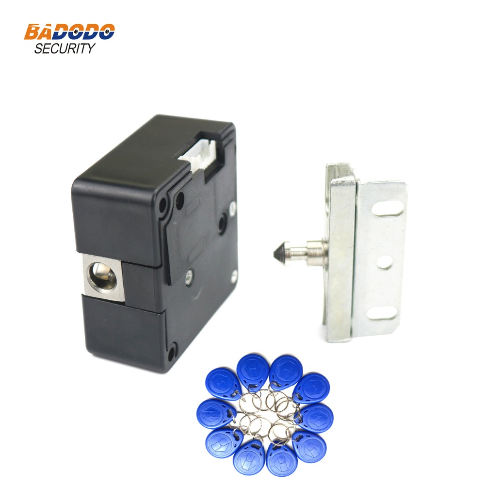 125khz Rfid Em Id Card Or 13.56mhz Ic Card Electric Cabinet Lock Invisible Hidden Rfid Cabinet Drawer Lock