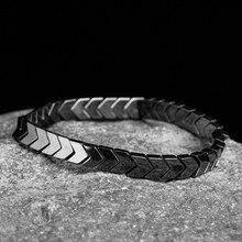 Natural stone Beads lava Tiger eye Golden & silver Hematite wrap Mens bracelets bangles Charms Fashion Couple