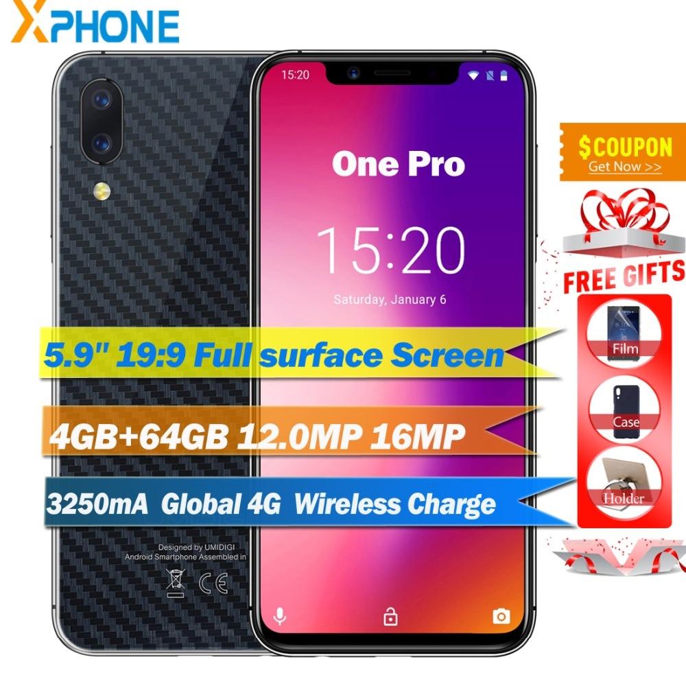 UMIDIGI ONE Pro Global 4G 4GB 64GB Android 8 1 P23 Octa Cor 5 9 Full