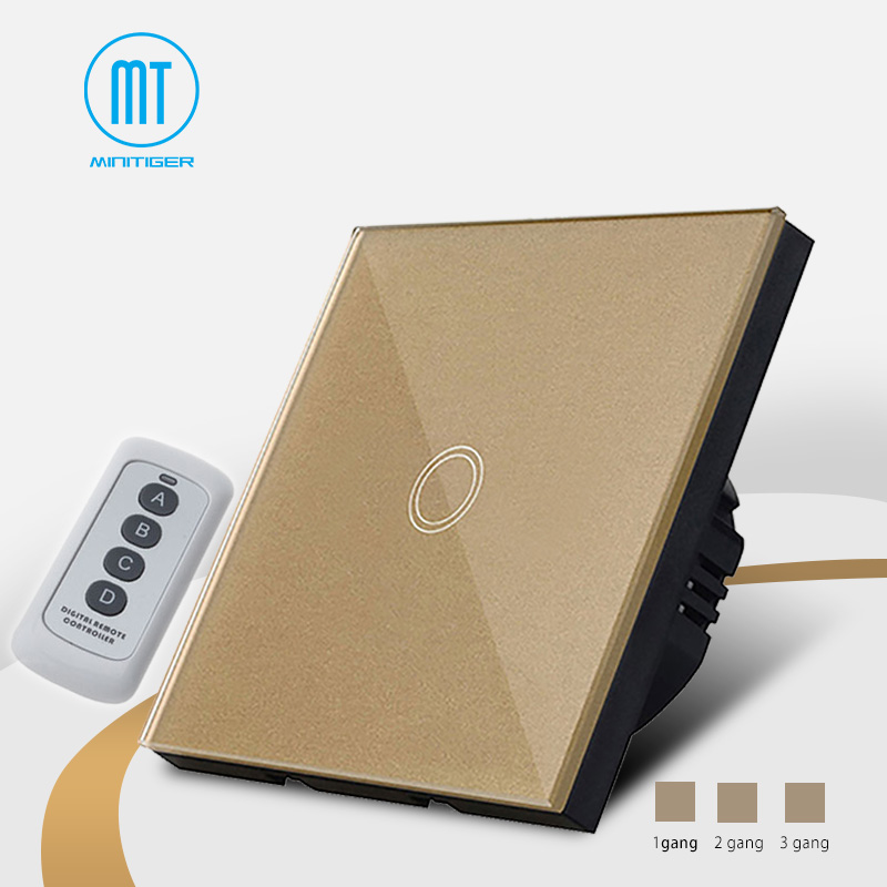 Touch switch,1/2/3 gang 1 way wall touch switch with LED,2017 Newest 220V Smart Touch Electrical Switches For Home Office Hotel цена