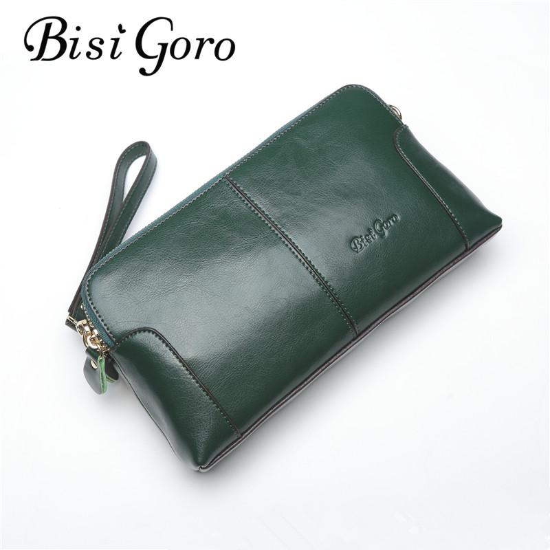 Bisi Goro 2018 Women Wallet Small Shell Bag Fashion Shoulder Bag New Women Messenger Bag Cow Leather Lady Clutch For Party