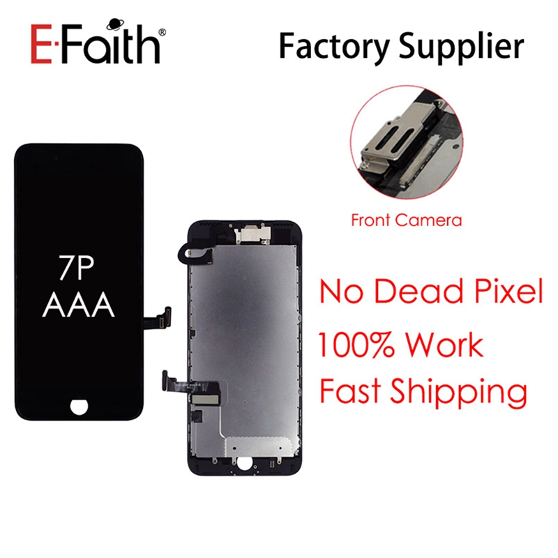 5 PCS/Lot Full Assembly LCD Replacement For iPhone 7P 7Plus Screen Display with digitizer And front camera And DHL Shipping-in Mobile Phone LCD Screens from Cellphones & Telecommunications