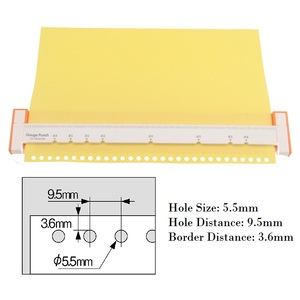 Image 5 - 30 hole Puncher A4, B5 (26 holes),  A5 (20 holes) Paper Punch Hole Punch Handmade Loose leaf Paper Punches