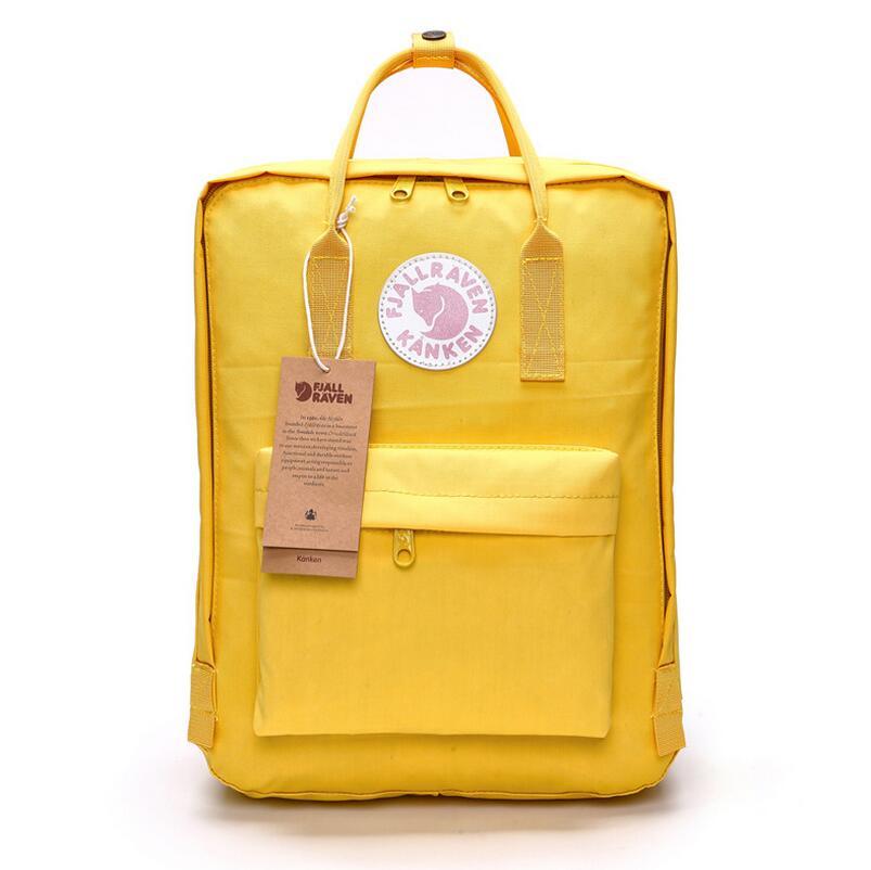 2018 Oxford student Backpack Arrival Children waterproof Backpacks mochila Classic/Mini for student kanken backpack School Bags
