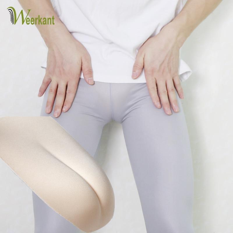 1pcs Insert Camel Toe Underwear TG False Panties Fake Vagina Shemale Hide JJ