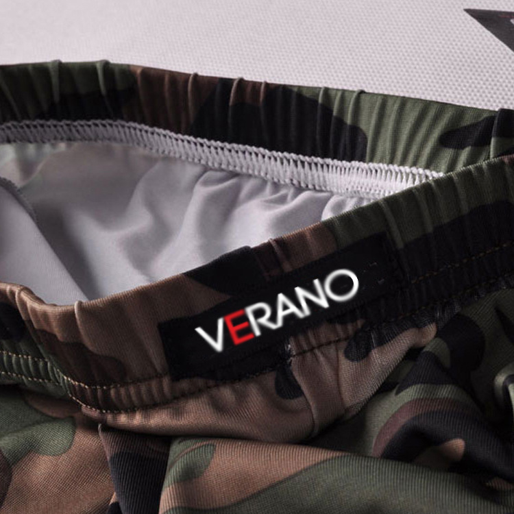 Gym Camouflage Printed Boxer Shorts Ice Silk Sport Shorts Briefs Print Cueca Boxer Boxershorts Men Slip Hombre Panties Boxer in Casual Shorts from Men 39 s Clothing