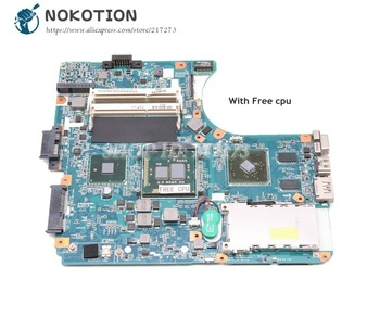 NOKOTION For Sony VAIO VPCEA SERIES VPCEA290X Laptop Motherboard A1771571A MBX-224 M960 1P-009CJ01-8011 Main board Free cpu