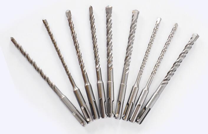 350mm Long SDS Plus Hammer Twist Drill Bits Round Shank Masonary Concrete 10mm 12mm 14mm 16mm 18mm 20mm 25mm