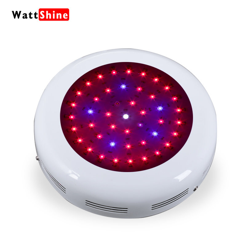 UFO 135W Full spectrum Led grow lights For Indoor Greenhouse plant Hydroponics system Free shipping White Black