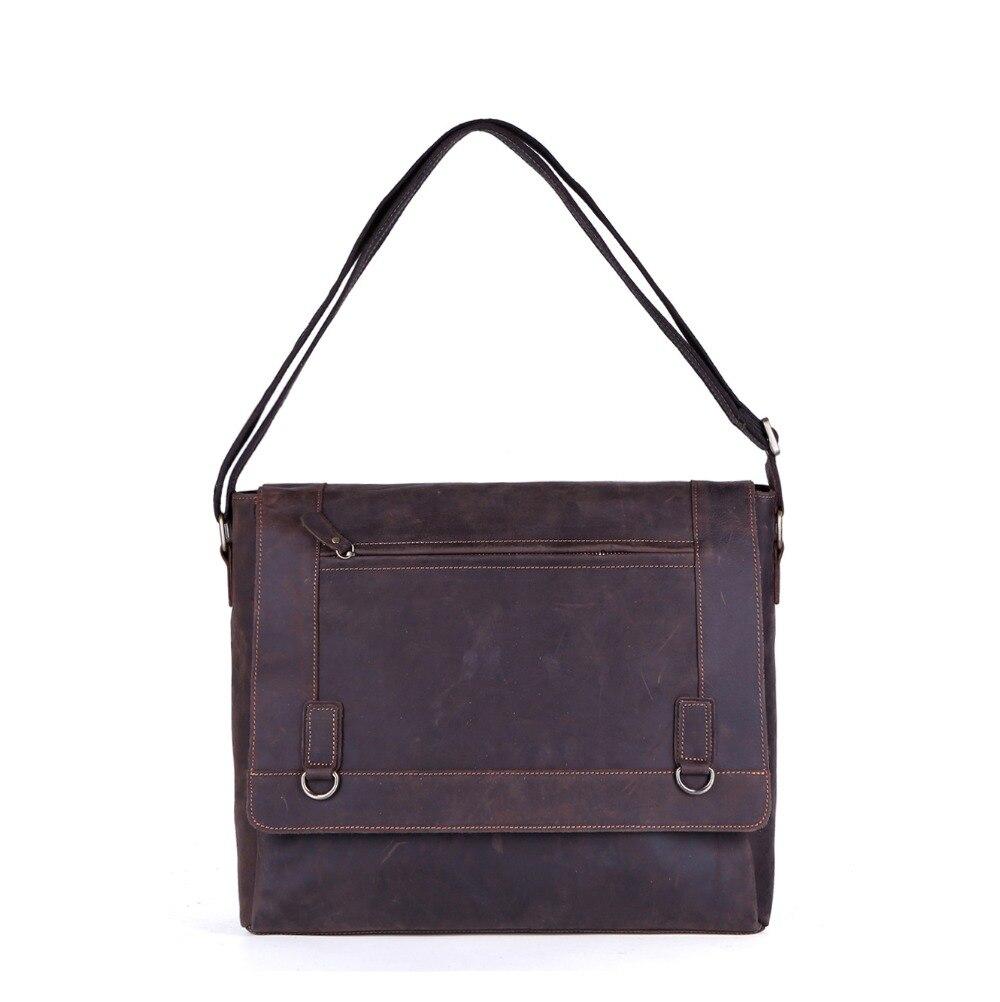 Мужской портфель натуральная кожа бизнес сумки ноутбук Повседневная Большая сумка винтажные сумки роскошные bolsas
