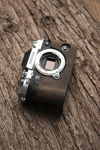 Image 4 - Fuji X T3 XT3 กล้อง MR.หิน Handmade ของแท้หนังกล้องวิดีโอครึ่งกล้อง Bodysuit