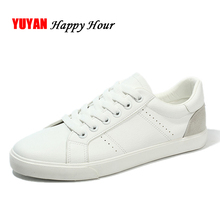 New Fashion Sneakers Men Casual Brand Shoes Soft Comfortable Mens Sneakers White Shoes K117
