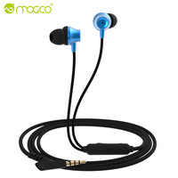 MOGCO In-Ear Universal Phone Earphones Plated Heavy Bass Sound Earphone Wired Earpiece Game Headset audifonos For Xiaomi Android