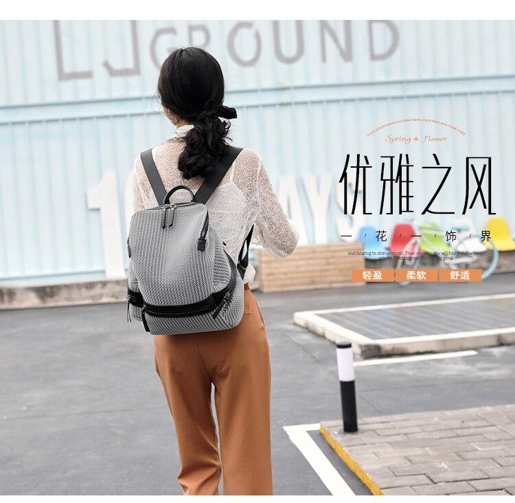 HTB1RR 6lwKTBuNkSne1q6yJoXXaU QINRANGUIO Nylon Backpack Women 2019 Fashion Women Backpack Large Capacity School Bags for Teenage Girls School Backpack Travel