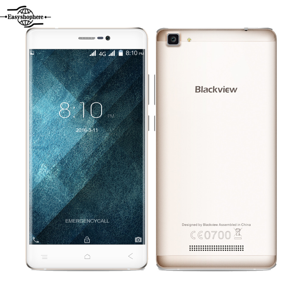 Original Blackview A8 Max 4G LTE Smartphone 5 5 Inch Android 6 0 MTK6737 Quad Core