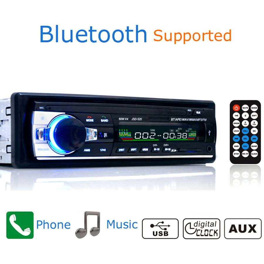 Großhandel Multifunktions Bluetooth Auto Radio Auto Stereo Aux In Fm ...