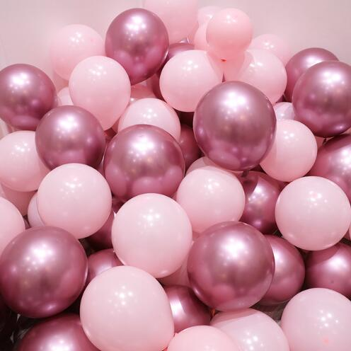 ~ Birthday Party Supplies Decorations Helium SWEET 16 BLUSH LATEX BALLOONS 15