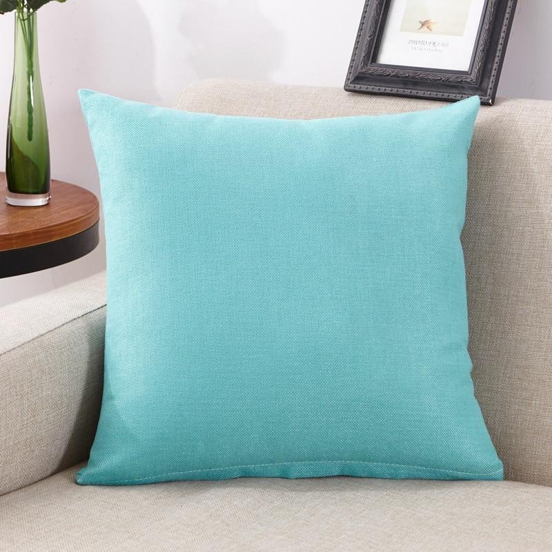 HTB1RR dfkfb uJjSsrbq6z6bVXa4 45x45cm New Soft Multicolor Choice Tailored Edge Poly Cotton European Cushion Home Decor