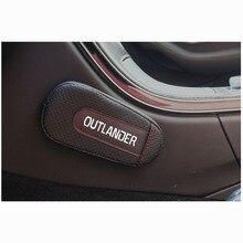 Мягкая Кожаная подушка для ног, наколенник, подлокотник, внутренние автомобильные аксессуары для Mitsubishi Outlander
