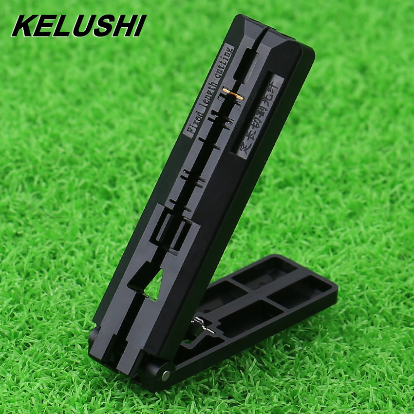 KELUSHI FTTH Fiber Drop Cable Coating Stripper Fiber Guide Bar Cutting Guideway