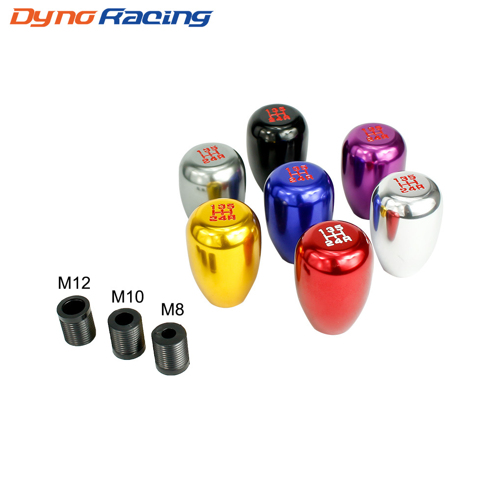 Universal Racing 5 Speed car Gear Shift Knob Manual Automatic Gear Shift Knob shift lever YC100235
