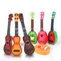 2017 1 pcs crianças 4 cordas guitarra simulação brinquedo educacional precoce toys musical guitarra