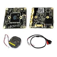 38*38 미리메터 사이즈 IP 카메라 모듈 1.0 메가 픽셀 Hi3518E DSP OV09712 IPC PCB 보드 + IP cctv