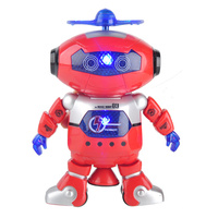 Wonderful Smart Space Dance Robot Astronaut Play Electronic Walking Dancing Toys With Music Light Gift For