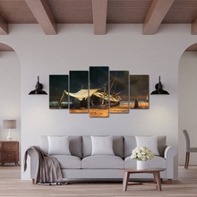 5 Panel Modular Painting Posters and Prints on Canvas Wall Art Picture For Living Room Free Shipping Abooly