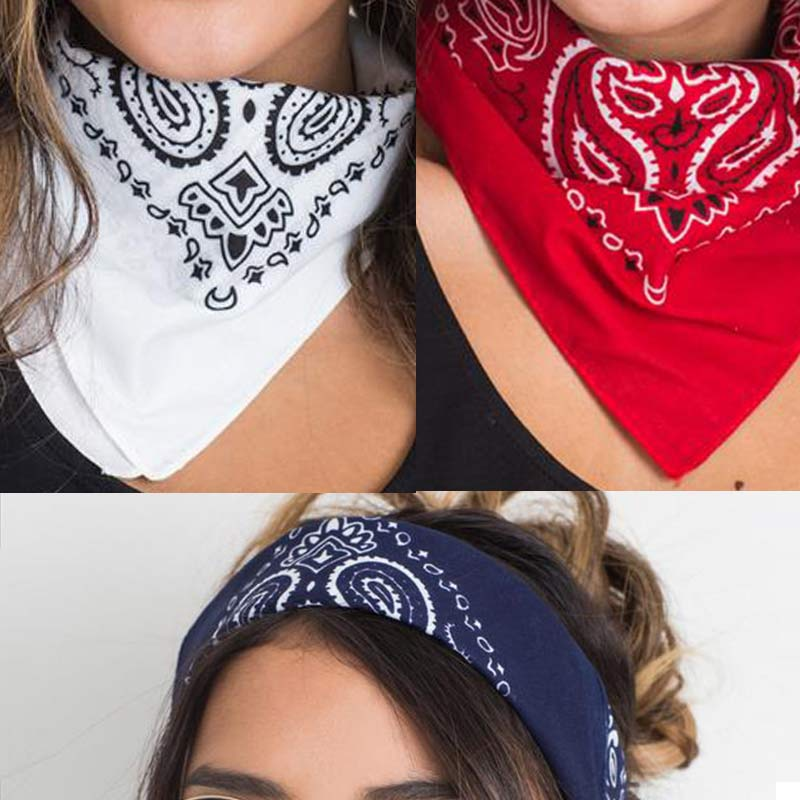 2016 New Fashion Ladies Women Square Head Scarf Wraps Winter Scarves Cotton Totem Printed Kerchief