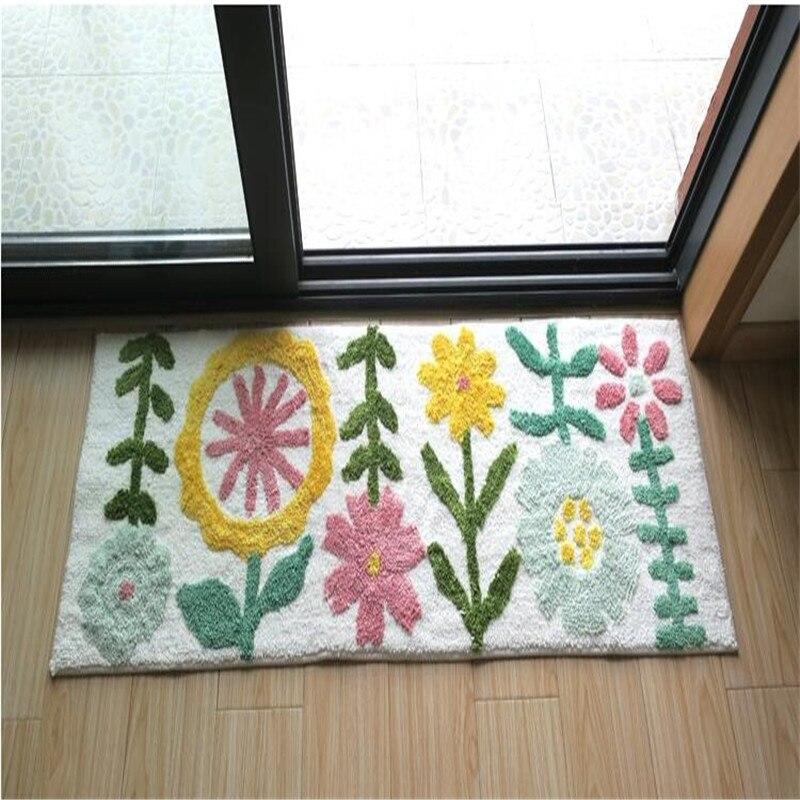 Livraison gratuite belle arbre tapis/tapis/Pad chaise Table dessin animé salon tapis porte tapis maison tapis/tapis 45*120 cm 60x150 cm - 3