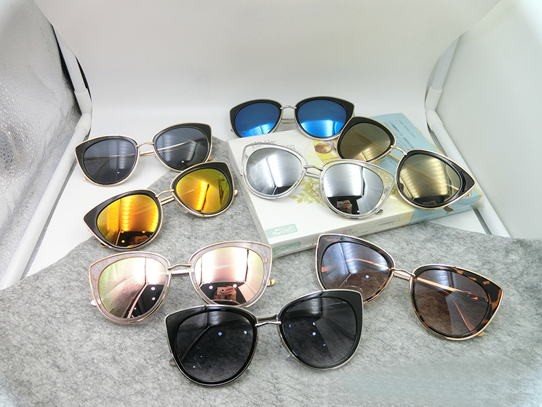 777e40b11026 Купить Аксессуары | 2017 New Style Cat Eye Women Sunglasses Summer ...