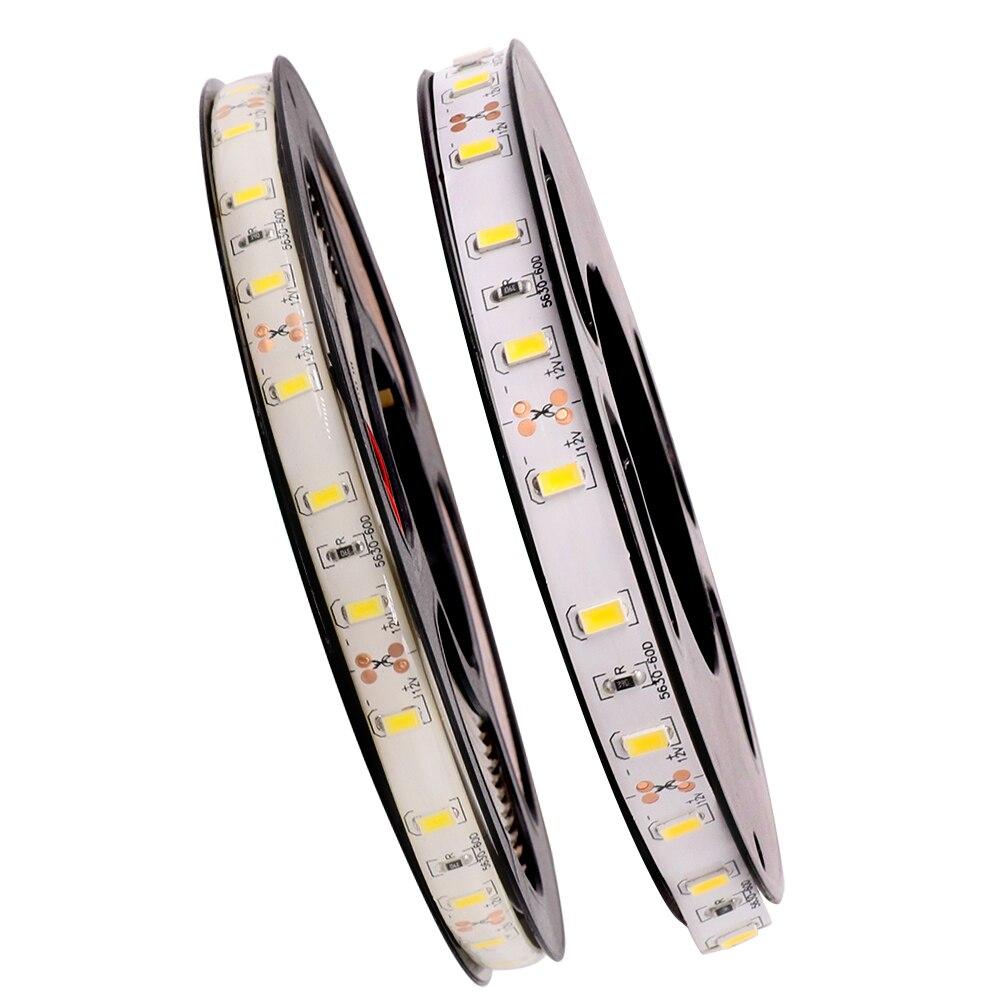 LED Strip 5630 Waterproof DC12V Flexible LED Light 60 LED/m IP65 Waterproof 5630 LED Strip.