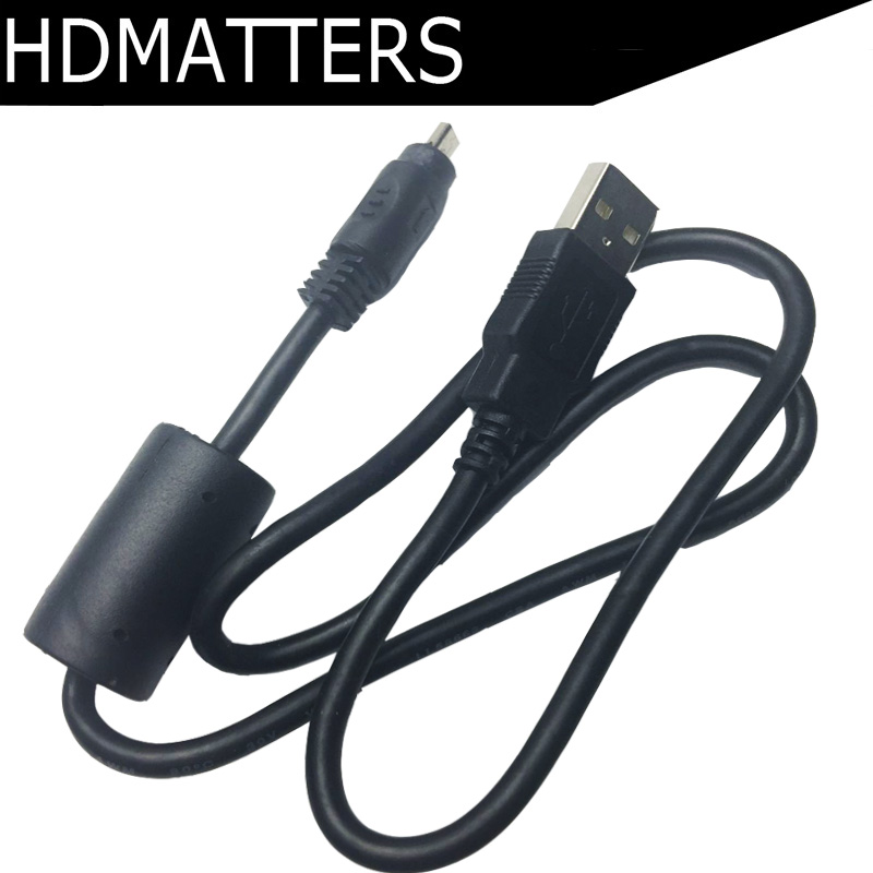 Hot sale USB A Male to Mini 8 Pin Male USB data cable cord for SONY CYBERSHOT DSC-TF1, DSC-W710 W730 W810 W830 S750 S780 S800 max length retractable 2m 7ft usb 2 0 a male to mini usb b 5pin male curl coiled spring data sync charge cable cord
