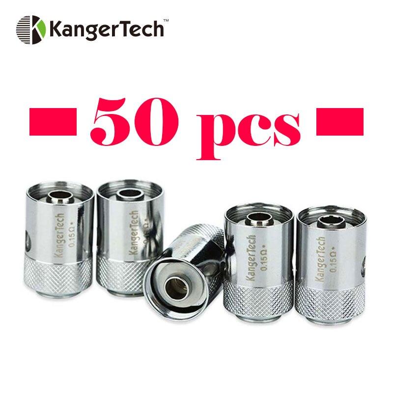 50pcs Origianl Kanger CLTANK CLOCC Coil 0 5ohm 0 15ohm 1 0ohm Replaceable Clocc Core Heads