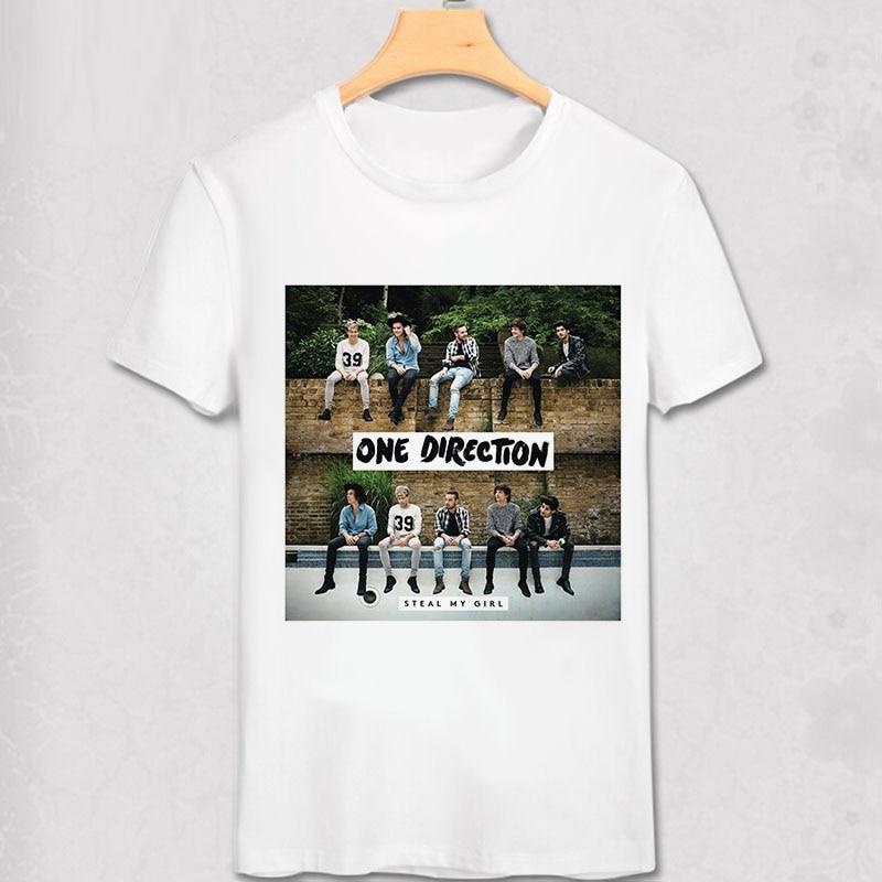 One Direction T πουκάμισο Louis Tomlinson Niall Horan Liam - Ανδρικός ρουχισμός - Φωτογραφία 2