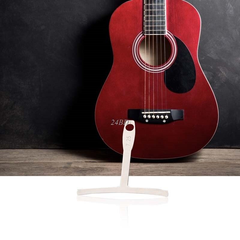 Understring Radius Gauge For Guitar Bass String Setup Luthier Tool 9PCS/SET J24