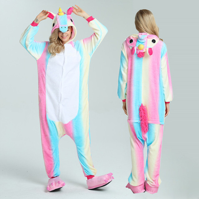 Animal pajamas adult onesie WOMAN Panda onesies for adults pijama de unicornio pikachu Pyjamas stitch sleepwear Full adulto