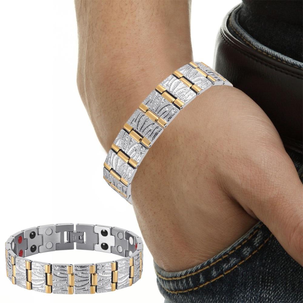 Nakit za rođendan Rainso Nakit za muškarce Par Zlato pozlaćivanje - Modni nakit - Foto 6