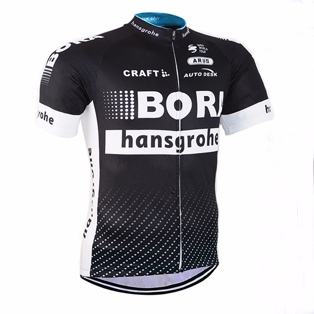 Prix pour 2017 cycling team bora vélo jersey usage de bicyclette maillot de clothing hommes ropa bici ciclismo vtt vélo vélo clothing