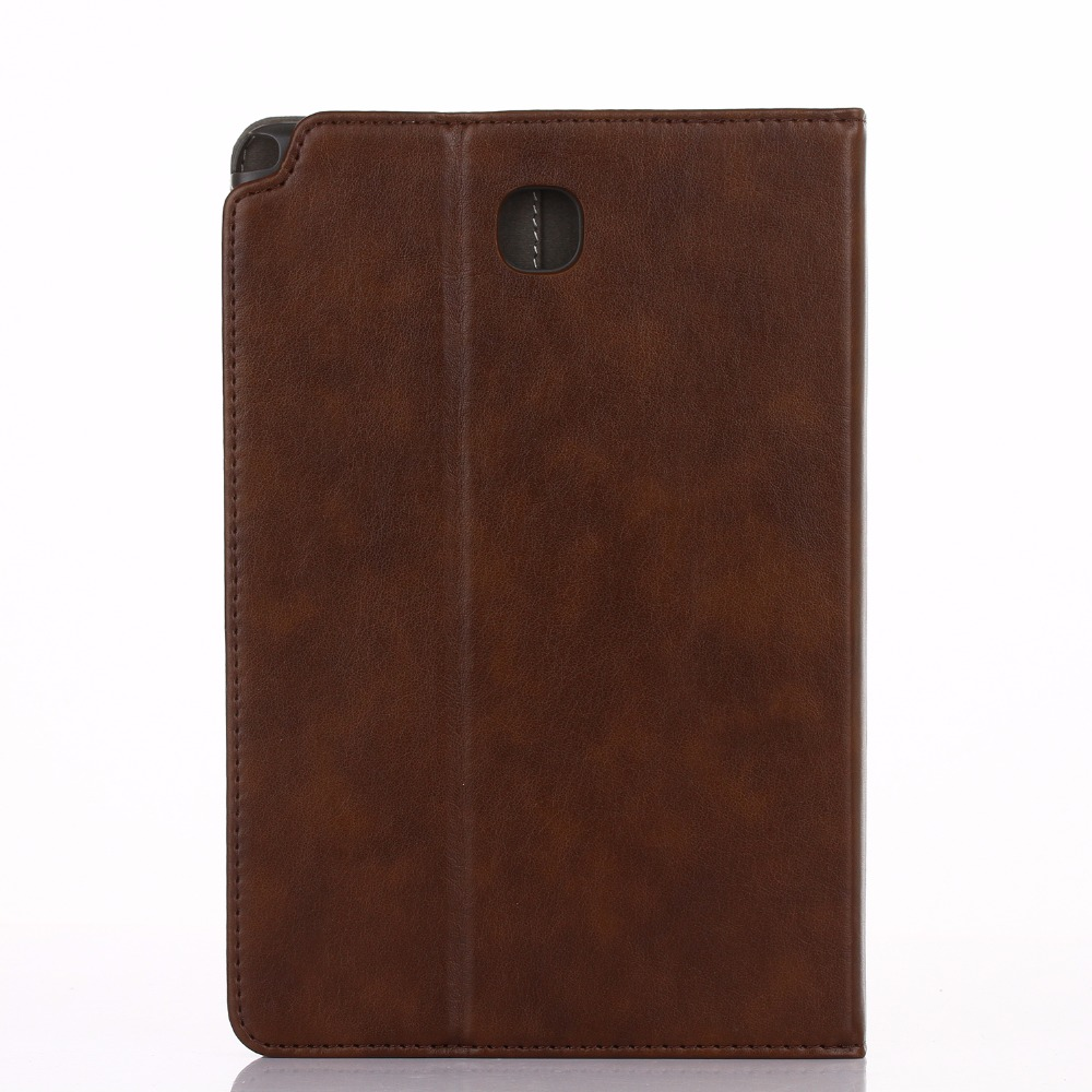 Hand Hold Premium Leather Case For Samsung Galaxy Tab A 8.0 T350 T355 P350 P355 Cover Stand Smart Case For Samsung Tab A 8.0